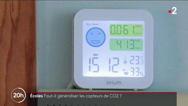 Covid-19 : une semaine avant la rentrée des classes, des écoles s'équipent de détecteurs de CO2