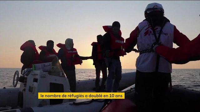Monde : en dix ans, le nombre de réfugiés a doublé