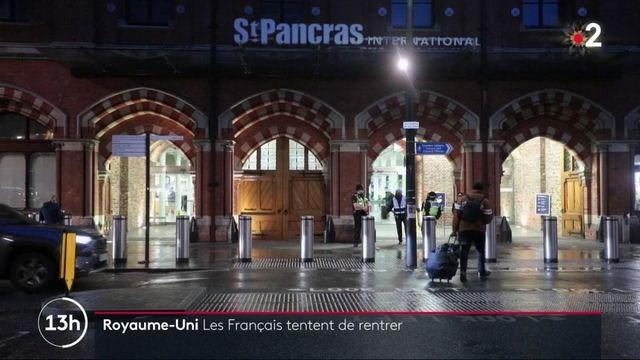 Royaume-Uni : les Français tentent de rentrer pour les fêtes