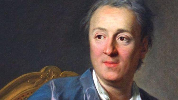 Denis Diderot par L. M. Van Loo 1767  (Musée du Louvre)