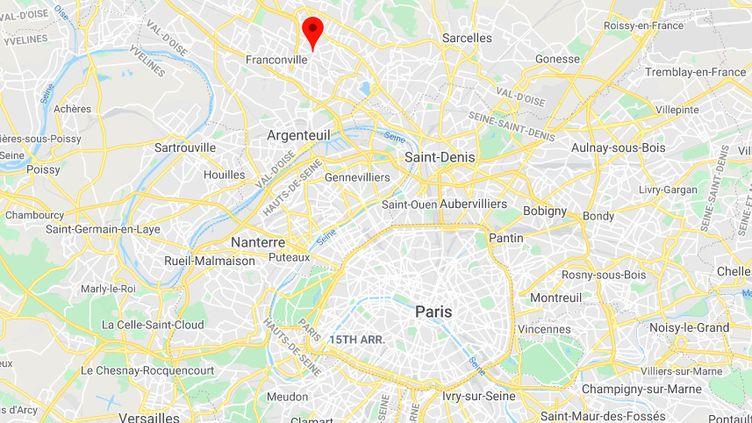 Ermont (Val-d'Oise). (CAPTURE D'ÉCRAN / GOOGLE MAPS)