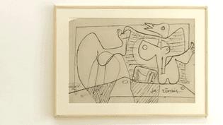"""""""Je rêvais"""" Dessin de Le Corbusier  (France 3 / Culturebox)"""