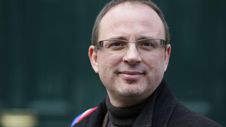 27 janvier 2013 à Paris - Le député socialiste Yann Galut, ex-rapporteur du projet de loi sur la fraude fiscale à l'Assemblée nationale. (KENZO TRIBOUILLARD / AFP)