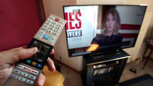 Illustration de la présence des femmes à la télévision. (LIONEL VADAM  / MAXPPP)