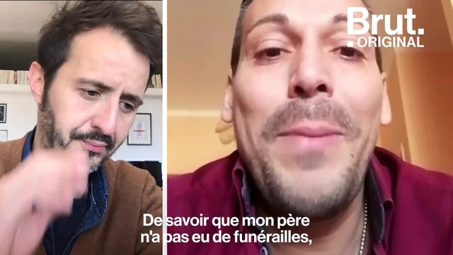 Il y a quelques jours, Brut diffusait le message de Gianni, un Italien contaminé par le coronavirus. Aujourd'hui guéri, une autre bataille l'attend : faire le deuil de son père décédé du Covid-19.