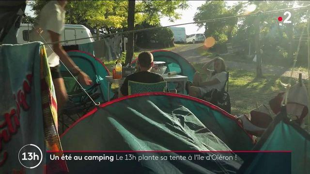 Un été au camping : le 13H plante sa tente sur l'Île d'Oléron dans un camping familial