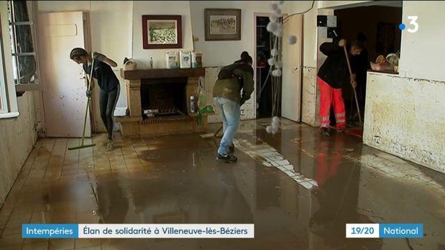 Villeneuve-les-Béziers : un collectif de Biterrois se mobilise pour venir en aide aux habitants