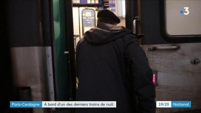Transport : immersion dans l'un des deux derniers trains de nuit de France