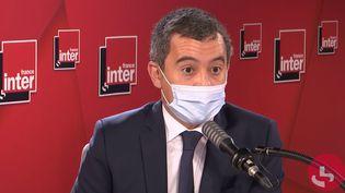 Gérald Darmanin, ministre de l'Intérieur, le 27 octobre 2020. (FRANCEINTER / RADIOFRANCE)