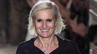 La créatrice italienne Maria Grazia Chiuri  (Kamil Zihnioglu/AP/SIPA)