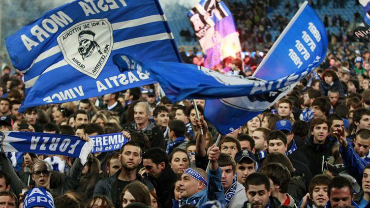 Les supporters du SC Bastia sont parmi les plus chauds de France