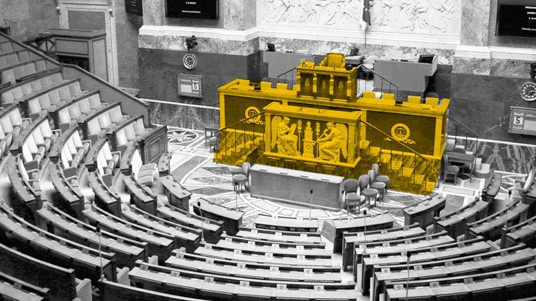 L'achat d'une permanence parlementaire avec leur indemnitéétait une pratique répandue chez les députés. (AFP / BAPTISTE BOYER)