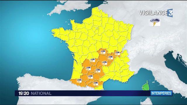 Météo : de très forts orages éclatent au-dessus de la France