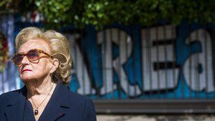 Bernadette Chirac, à Bruxelles, le 16 juin 2015. (LAURIE DIEFFEMBACQ / MAXPPP)