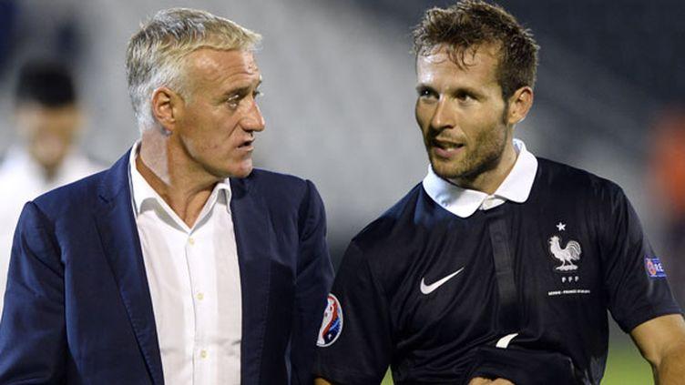 Yohan Cabaye, malgré son temps de jeu réduit au PSG, conserve la confiance de Didier Deschamps
