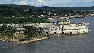 Le fort deSan Fernando, à Carthagène (Colombie), en 2006. (KEN GILLHAM / ROBERT HARDING HERITAGE / AFP)