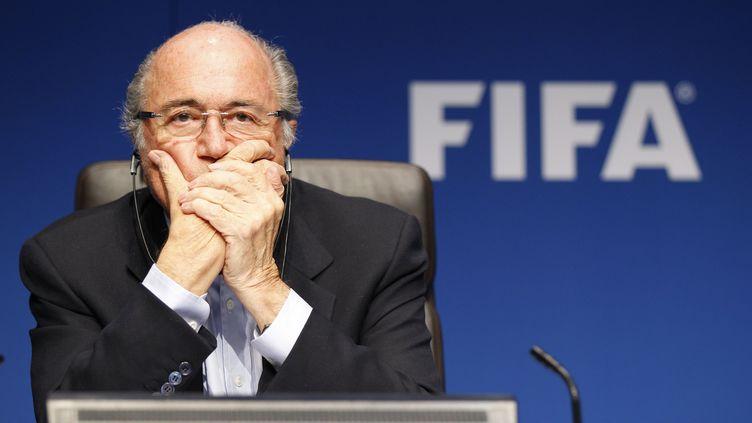 Joseph Blatter, président de la FIFA (R4311 / MANDOGA MEDIA)