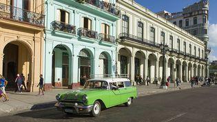 Paseo Del Prado, La Havane Cuba  (ESCUDERO PATRICK / HEMIS.FR / HEMIS)