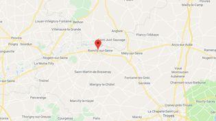 Romilly-sur-Seine (Aube). (GOOGLE MAPS)