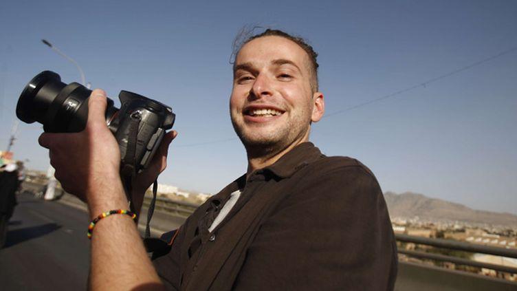 (L'Américain Luke Somers avait 33 ans © SIPA/AP Photo/Hani Mohammed)
