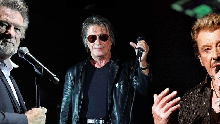 Eddy Mitchell, Jacques Dutronc et Johnny Hallyday ensemble sur scène pour la première fois en novembre à Bercy