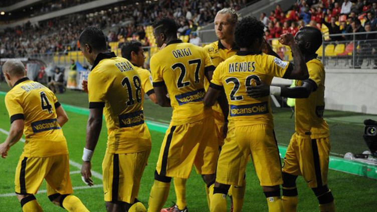 Lille a dominé Caen à 11 contre 10