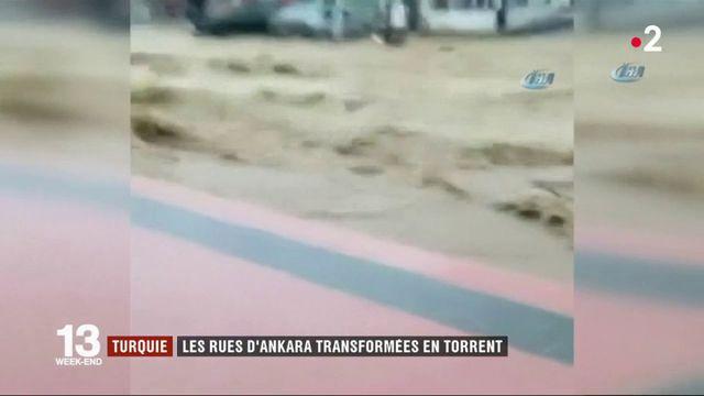 Turquie : Ankara surprise par des pluies torrentielles
