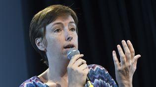 Caroline de Haas, militante féministe et opposante à la Loi Travail pourrait se présenter aux élections législatives à Paris en juin 2017. (XAVIER LEOTY / AFP)