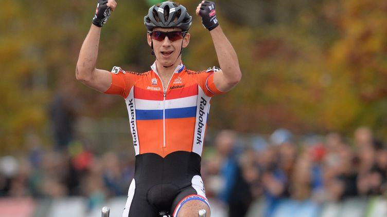 Lars Van Der Haar est champion d'Europe. (DAVID STOCKMAN / BELGA MAG)