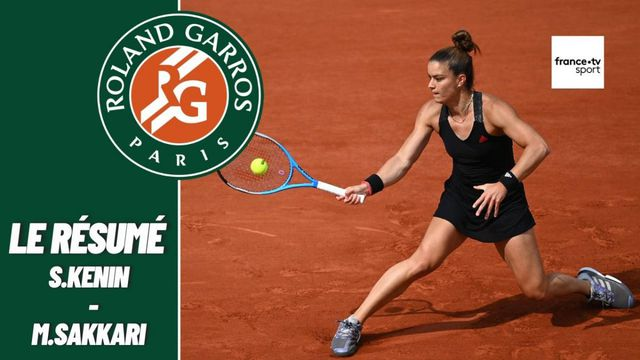 Les meilleurs moments du match Sofia Kenin - Maria Sakkari