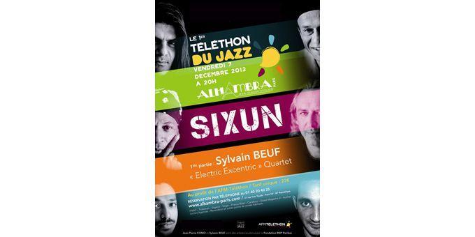 L'affiche du Téléthon du Jazz 2012  (DR)
