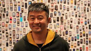 L'artiste chinois Liu Bolin à la Maison européenne de la photographie à Paris, le 5 septembre 2017. (GINIES / SIPA)