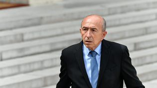 Gérard Collomb à la sortie du Conseil des ministres, le 28 juillet 2017. (MAXPPP)