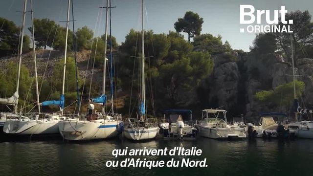 À Marseille, Brut a plongé dans la mer de déchets avec le photographe sous-marin Alexis Rosenfeld.
