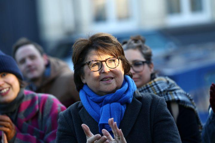 Martine Aubry à Lille (Nord), le 11 novembre 2019. (FRANCK CRUSIAUX / REA)