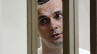Oleg Sentsov au tribunal de Rostov-on-Don le 21 juillet 2015  (STR / AP / Sipa)