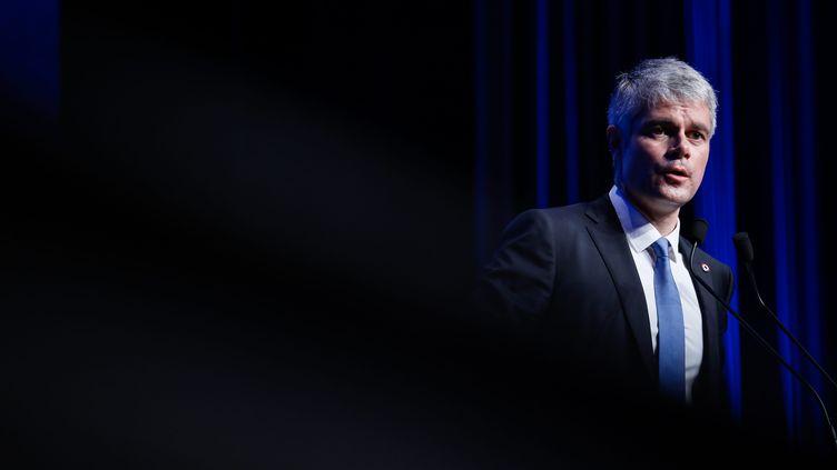 Laurent Wauquiez lors du Conseil national du parti Les Républicains, le 27 janvier 2018. (MAXPPP)