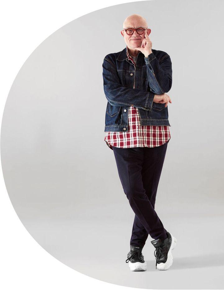 Le couturier Christian Lacroix. 2020 (Courtesy of Desigual)