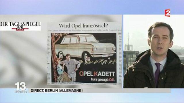 Opel : l'Allemagne s'inquiète de l'annonce du rachat par PSA