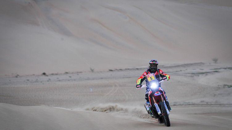 Joan Barreda Bort (Honda), vainqueur de la 5e étape du Dakar 2018 (DPPI / DPPI MEDIA)