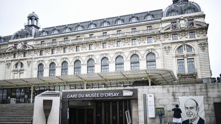 Le Musée d'Orsay à Paris, 9 décembre 2020. (STEPHANE DE SAKUTIN / AFP)