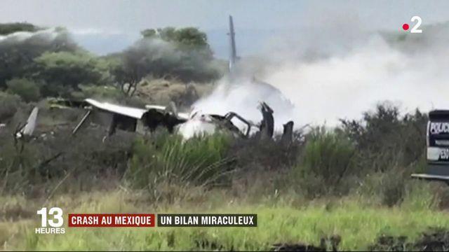 Crash au Mexique : un bilan miraculeux