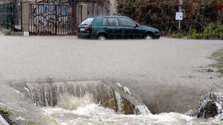 Inondation dans l'Hérault, le 29 septembre 2014. (  MAXPPP)
