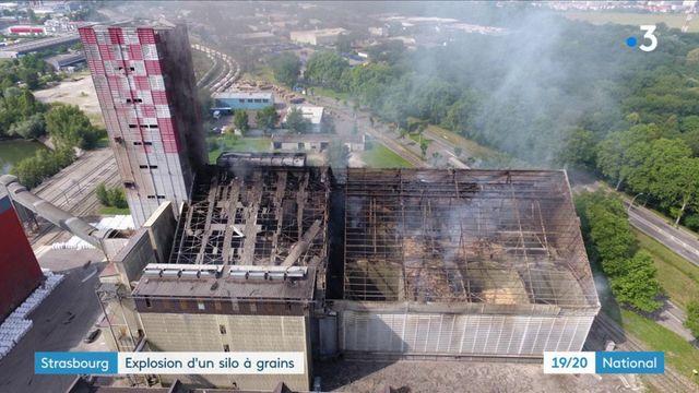 Strasbourg : explosion d'un silo à grains