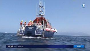 7 000 bénévoles de la SNSM interviennent sur les côtes françaises. (CAPTURE D'ECRAN / FRANCE 3)