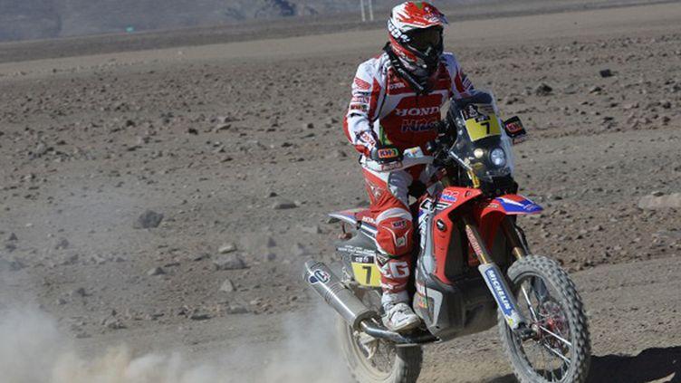 Paulo Goncalves (Honda) (ERIC VARGIOLU / E.V.A.)