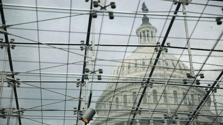 Le dôme du Capitole à Washington (Etats-Unis). (DREW ANGERER / GETTY IMAGES NORTH AMERICA)