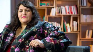 La romancière Sofia Aouine, à La Grande Librairie sur France 5 (BALTEL/SIPA)