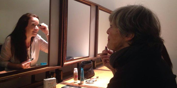 Anny Czupper et Lies Vandewege, deux interprètes performeurs  (Yaël Benamou)