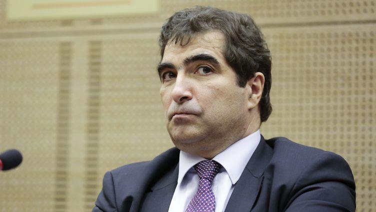 Le président du groupe UMP à l'Assemblée nationale Christian Jacob, le 12 mars 2014 à Paris. (  MAXPPP)